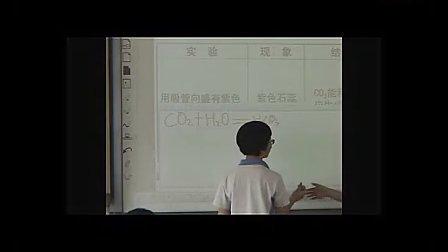 八年级科学优质课展示《二氧化碳的性质》浙教版朱老师