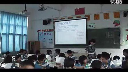 《Unit 5 I m watching TV》新课程初中英语名师课堂课例示范