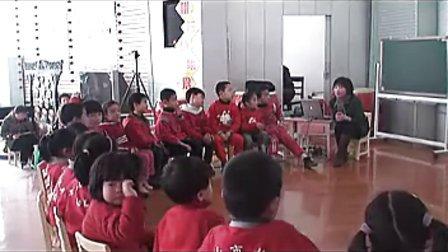 幼儿园大班语言活动优质课视频《讲故事》郑老师