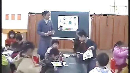 幼儿园中班数学优质课视频展示《图形娃娃找家》