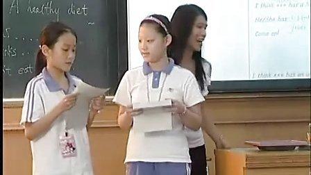 小学五年级英语《a healthy siet》李丹萍