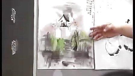 小学五年级美术优质课展示《诗配画》 2010年江苏省中小学美术录像课竞赛获奖作品小学美术优质课展示
