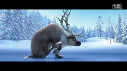 迪士尼最新搞笑动画《冰雪大冒险》