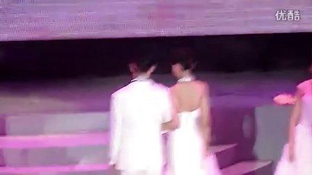 2011重庆小姐大赛决赛婚纱展示