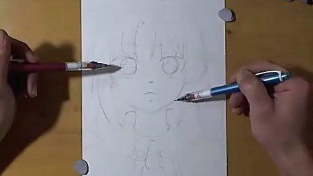 GODEES手绘同人漫画过程 1