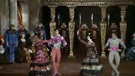 【唐吉尔看芭蕾】天鹅湖Swan Lake 第三幕西班牙舞(Nureyev)