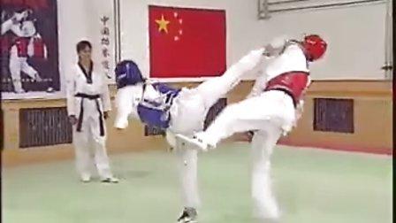【侯韧杰  TKD  教学篇】之九级段冠军技术