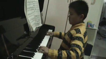 钢琴练习《浏阳河》