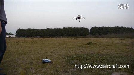XAircraft AHRS-S V2 定高定点扰动测试