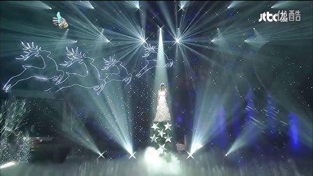 [高清LIVE]111222. G.NA -  你有一个快乐的小圣诞. JTBC