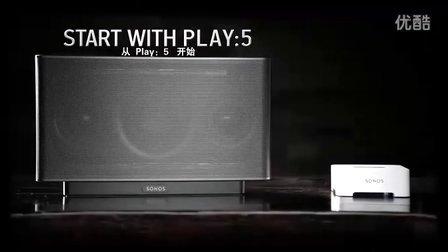 SONOS 无线多房间音响系统——PLAY:5 播放器(国林智控)