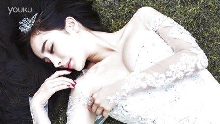 杨幂甜美婚纱照 小秀美胸性感凸现_高清视频