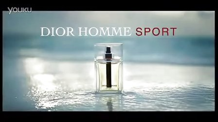 DIOR HOMME SPORT 迪奥桀骜运动男士香水 广告