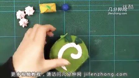 如何用不织布做卷心蛋糕