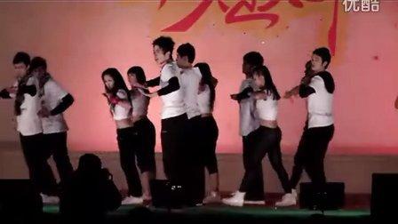 隆安中学2012元旦晚会-body rock。。。