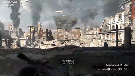 狙击精英v2 最高难度视频攻略 序章