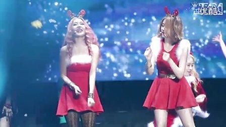 131221 T-ARA ON AIR 广州演唱会 快乐圣诞祝福