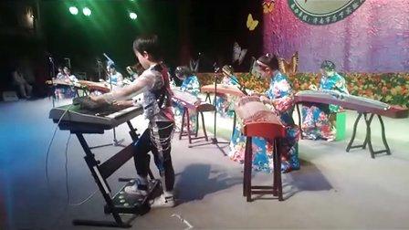 三排键  电子琴 双排键现场伴奏《荷塘月色》