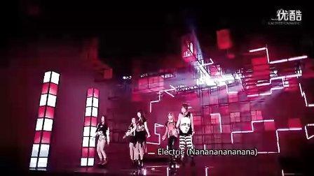 中文字幕版 f(x) - Electric Shock MV