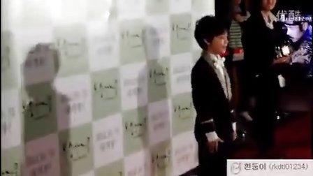 丹迪家族 121027 郑允锡 韩国电影《桃树》VIP首映式