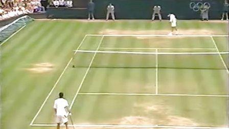 2003 温网决赛 费德勒vs菲利普西斯 set1