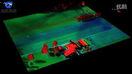无人直升机挂载LiDAR设备进行数据采集,效果完美!