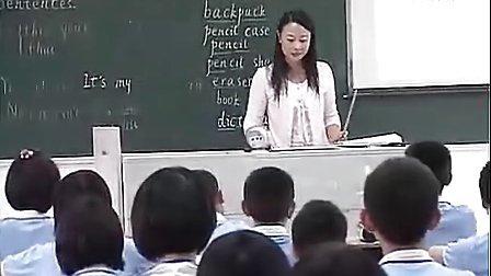 人教版新目标英语七年级下册课堂实录《Unit 6 It is raining》执教李老师