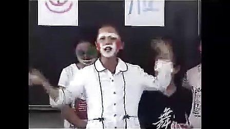 1小学五年级美术优质课展示《画脸二》 2010年江苏省中小学美术录像课竞赛小学美术优质课展示