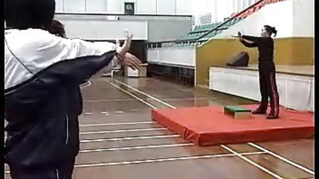 高中体育优质课实录《踏板操》陶老师