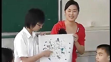 《点的魅力》新课程初二美术优质课展示