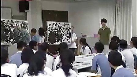 优酷网-八年级美术优质课展示《水墨点线的魅力》郭维孪