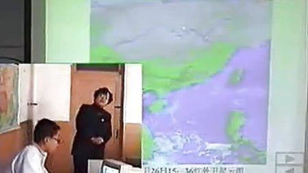 高一高中地理优质课视频《常见的天气系统锋面与天气》