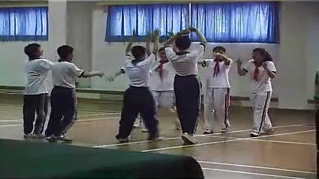 初中体育说课及实录武术少年连环拳全员培训教学展示课
