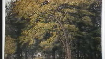 山水画写生—树