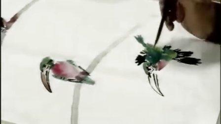 花鸟画技法 12 翠鸟