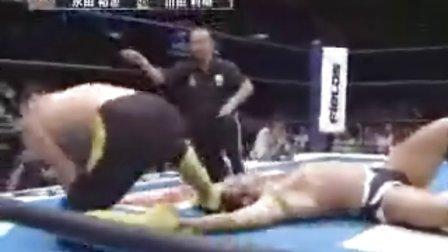 2008.08.16 新日本摔角 永田裕志 vs 川田利明 (G1 CLIMAX B公式戰)