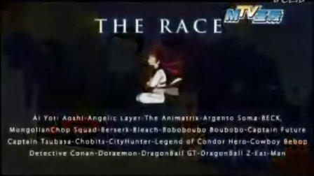 很多动漫人物赛跑的MTV《The Rac》