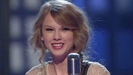 【猴姆独家】小美女Taylor Swift激情首秀好听新单Mean超清现场!