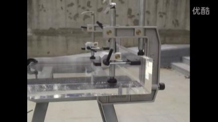 GPW-A03 石材45度角斜邊夾具 - 以壓克力展示