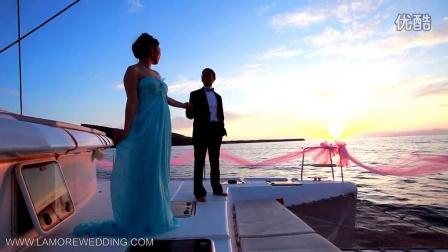 拉莫洛爱的环球旅行-爱琴海帆船婚礼