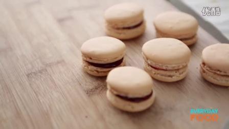 简易法国马卡龙制作Easy French Macarons