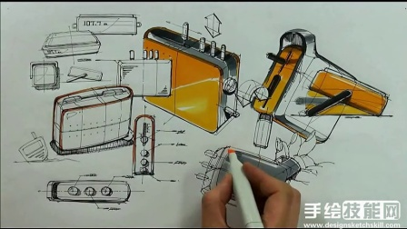 Sangwon+Seok产品创意设计草图