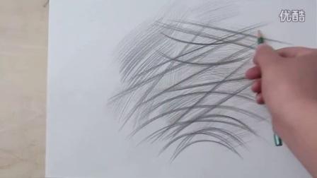 素描入门_握笔方法,线条的画法