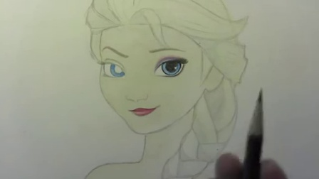 绘画入门技巧 怎样画艾莎