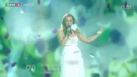 【Eurovision】Anne Gadegaard - Suitcase  (2015年丹麦季军)