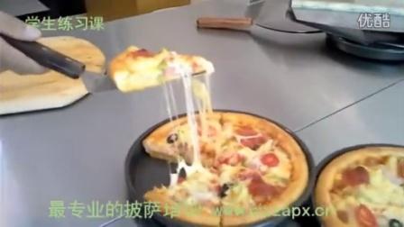 芝心披萨制作 必胜客芝心披萨制作 比萨制作