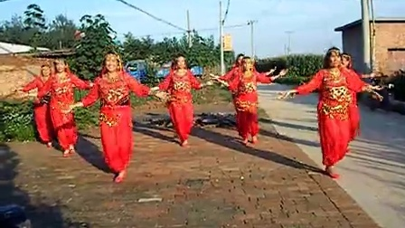 圈头营广场舞印度舞快乐的跳吧