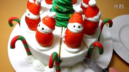 如何做圣诞蛋糕 by 스윗더미 . Sweet The MI