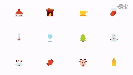 Christmas Icons Animation