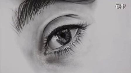 怎样画眼睛湿润效果_标清